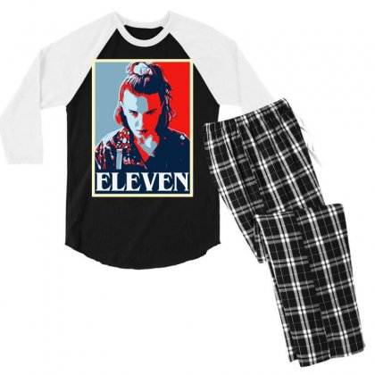 Eleven Men's 3/4 Sleeve Pajama Set Designed By Tht