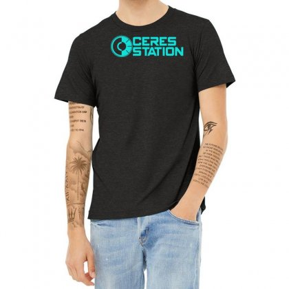 Ceres Station Heather T-shirt Designed By S4bilal