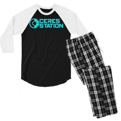Ceres Station Men's 3/4 Sleeve Pajama Set Designed By S4bilal