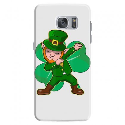 Dabbing Leprechaun Shirt Funny Dab St Patrick Day Gift Idea T Shirt Samsung Galaxy S7 Case Designed By Hoainv
