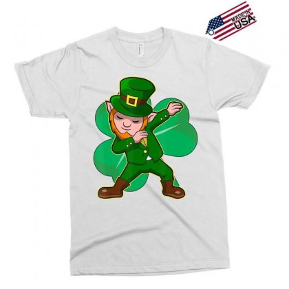 Dabbing Leprechaun Shirt Funny Dab St Patrick Day Gift Idea T Shirt Exclusive T-shirt Designed By Hoainv