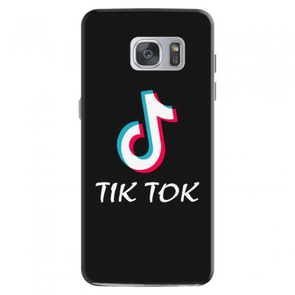 Tik And Tok Samsung Galaxy S7 Case Designed By Swan Tees