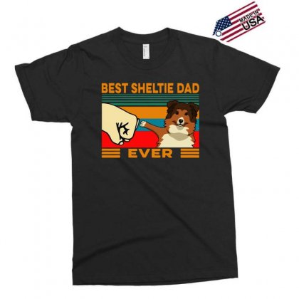 Best Sheltie Dad Ever Exclusive T-shirt Designed By Tht