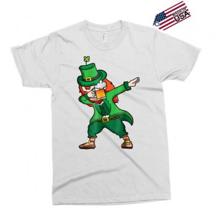 Dabbing Leprechaun Shirt Men Drinking St Patricks Day Shirt Exclusive T-shirt Designed By Hoainv