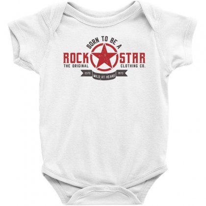 Rock Star Sportswear Baby Bodysuit Designed By Designisfun