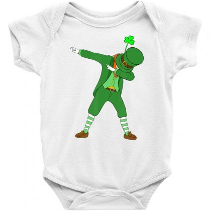Dabbing Leprechaun Shirt St Patricks Day Boys Kids Men Dab Baby Bodysuit Designed By Hoainv