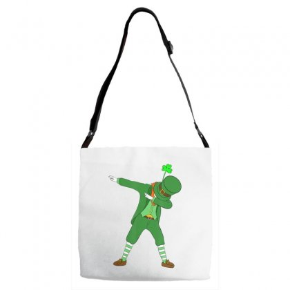 Dabbing Leprechaun Shirt St Patricks Day Boys Kids Men Dab Adjustable Strap Totes Designed By Hoainv
