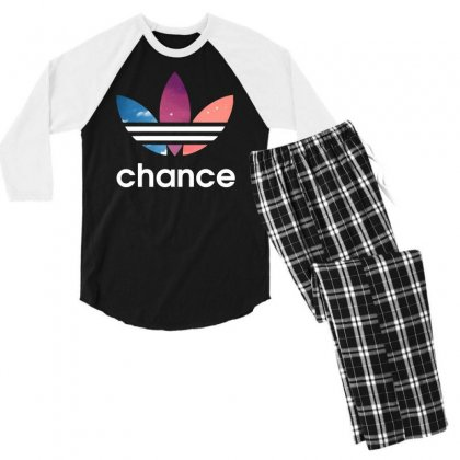 Change Logo Men's 3/4 Sleeve Pajama Set Designed By Tht