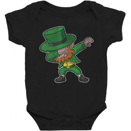 Dabbing Leprechaun Shirt St Patricks Day Kids Boys Women Men Baby Bodysuit Designed By Hoainv