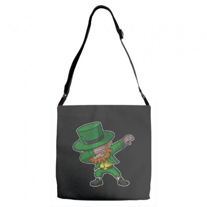 Dabbing Leprechaun Shirt St Patricks Day Kids Boys Women Men Adjustable Strap Totes Designed By Hoainv