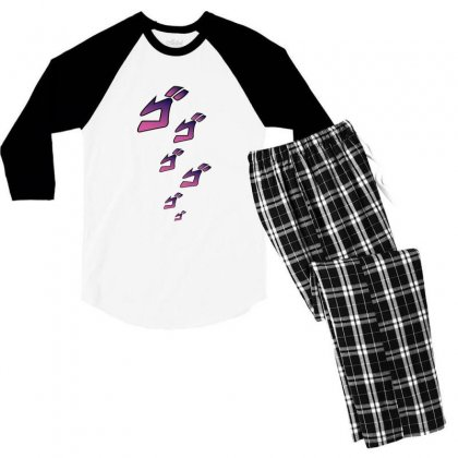 Jojos Bizarre Adventure Men's 3/4 Sleeve Pajama Set Designed By Mahendra Ajis
