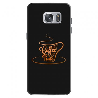 Coffee Time Samsung Galaxy S7 Case Designed By Tht