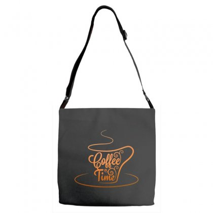Coffee Time Adjustable Strap Totes Designed By Tht
