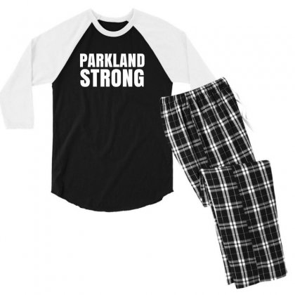 Parkland Strong Men's 3/4 Sleeve Pajama Set Designed By Mahendra Ajis