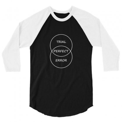 Trial And Error 3/4 Sleeve Shirt Designed By Asatya