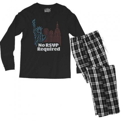 Required Cool Men's Long Sleeve Pajama Set Designed By Tht