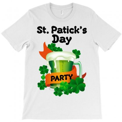 St. Patick's Day Party For Light T-shirt Designed By Neset