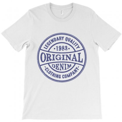 Original Denim Legendary Jeans T-shirt Designed By Designisfun