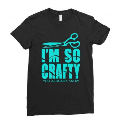Craft Shirt Ladies Fitted T-shirt Designed By S4bilal