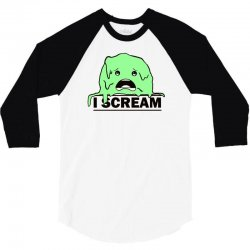 i scream 3/4 Sleeve Shirt | Artistshot