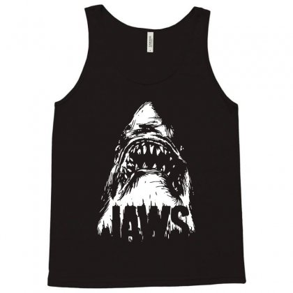 Hungry Shark Tank Top Designed By Swan Tees