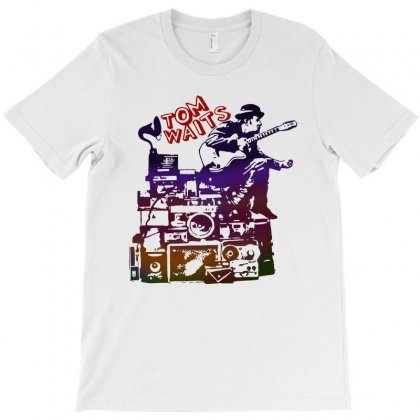 Tom Waits Band T-shirt Designed By Swan Tees