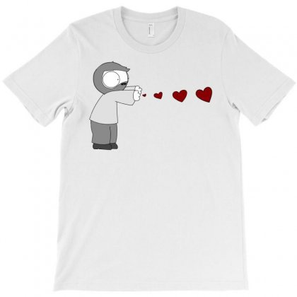 John Hearts T-shirt Designed By Artwoman