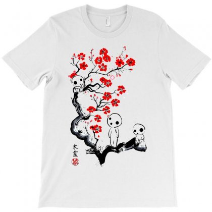 Little Forest Spirits Classic T-shirt Designed By Artwoman