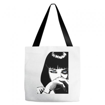 Pulp Fiction Mia Classic Tote Bags Designed By Artwoman