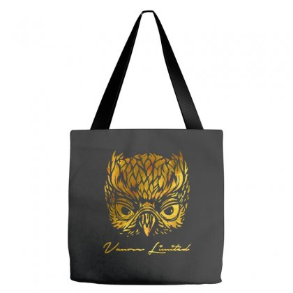 Golden Owl Tote Bags Designed By Swan Tees
