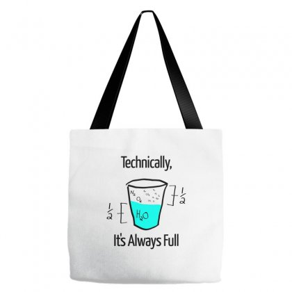 Science Is Optimistic Tote Bags Designed By Artwoman