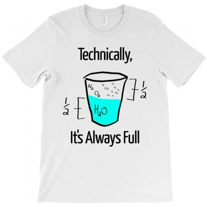 Science Is Optimistic T-shirt Designed By Artwoman