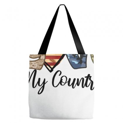 Love My Country Tote Bags Designed By Badaudesign