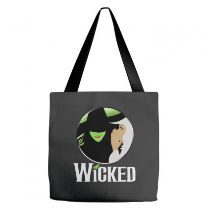 Romantic Musical Wicked Tote Bags Designed By Swan Tees