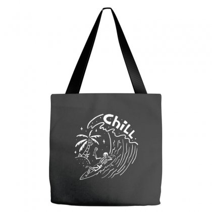 Surf And Chill Tote Bags Designed By Quilimo