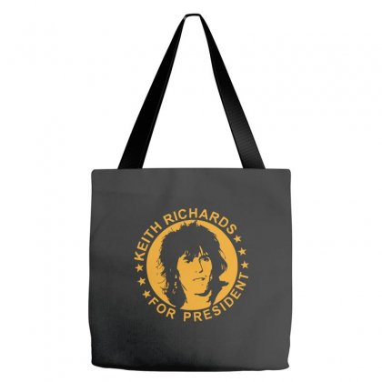 Keith Richards Tote Bags Designed By Swan Tees