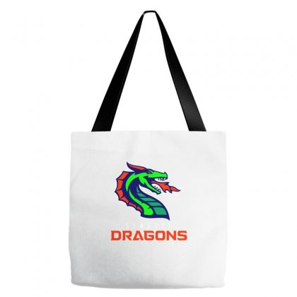 Dragons Football Tote Bags Designed By Butterfly99