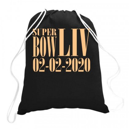 Super Bowl Liv 2020 Logo Series Sport Gift Relaxed Drawstring Bags Designed By Butterfly99