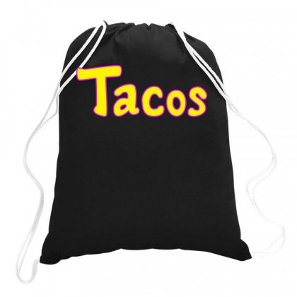 Tacos Drawstring Bags Designed By Butterfly99