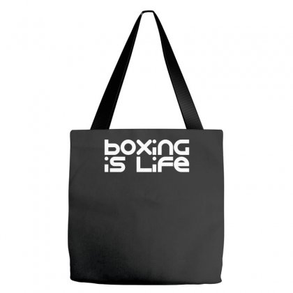 Boxing Is Life Tote Bags Designed By Farrel T-shirt