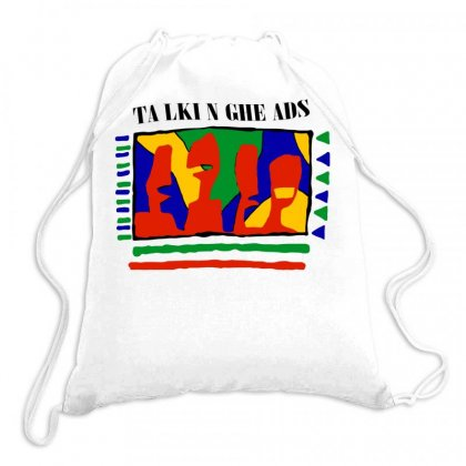 Ta Lki N Ghe Ads Drawstring Bags Designed By Butterfly99