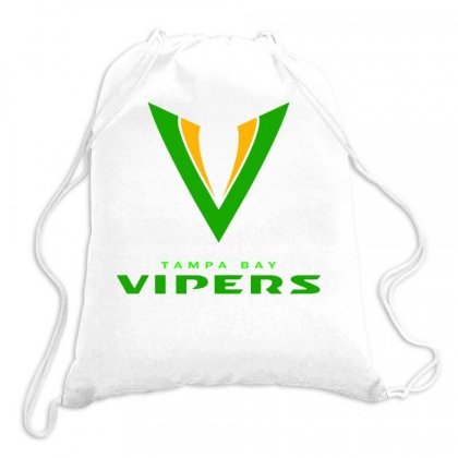 Tampa Bay Vipers Xfl Drawstring Bags Designed By Butterfly99