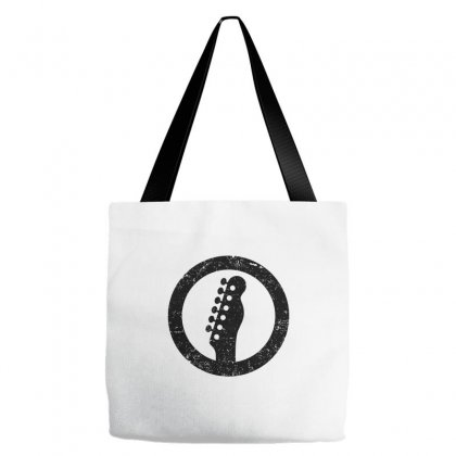 Telecaster Headstock Tote Bags Designed By Butterfly99
