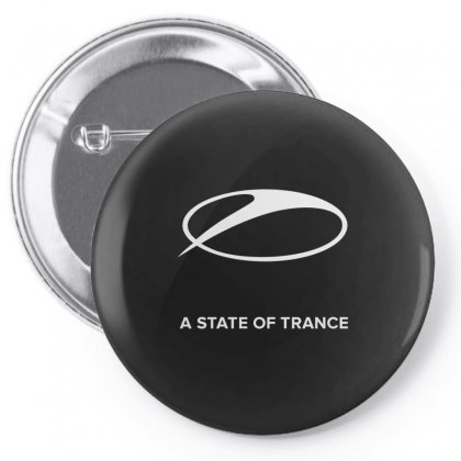 A State Of Trance Pin-back Button Designed By Butterfly99