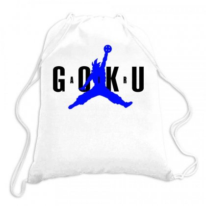 Air Goku 2 Art Drawstring Bags Designed By Butterfly99