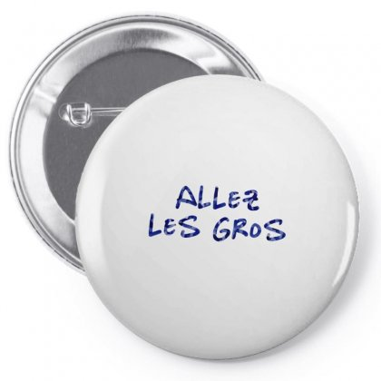 Allez Les Gros   Marwa Loud Feat Art Pin-back Button Designed By Butterfly99