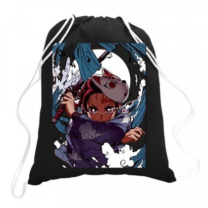 Animedemonslayer Drawstring Bags Designed By Butterfly99
