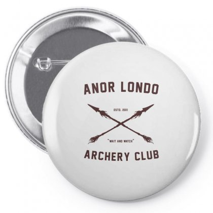 Anor Londo   Archery Club Art Pin-back Button Designed By Butterfly99