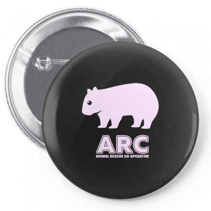 Arc Wombat Gear , Animal Rescue Co Operative Pin-back Button Designed By Butterfly99
