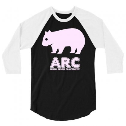 Arc Wombat Gear , Animal Rescue Co Operative 3/4 Sleeve Shirt Designed By Butterfly99